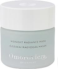 Düfte, Parfümerie und Kosmetik Glättende Gesichtsmaske für die Nacht mit Salicylsäure und Sandlilienextrakt - Omorovicza Midnight Radiance Mask