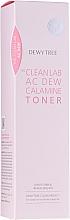 Düfte, Parfümerie und Kosmetik Beruhigendes Gesichtstonikum mit rosa Calamin für fettige und zu Akne neigende Haut - Dewytree The Clean Lab AC Dew Calamine Toner