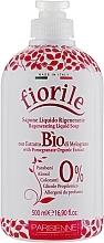 Flüssigseife mit Granatapfel-Extrakt - Parisienne Italia Fiorile Pomergranate Liquid Soap — Bild N1