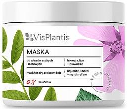 Düfte, Parfümerie und Kosmetik Haarmaske für trockenes und mattes Haar - Vis Plantis Hair Mask