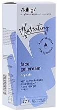 Düfte, Parfümerie und Kosmetik Intensiv feuchtigkeitsspendende Gel-Creme für trockene Gesichtshaut - Kili-g Hydrating Face Gel Cream