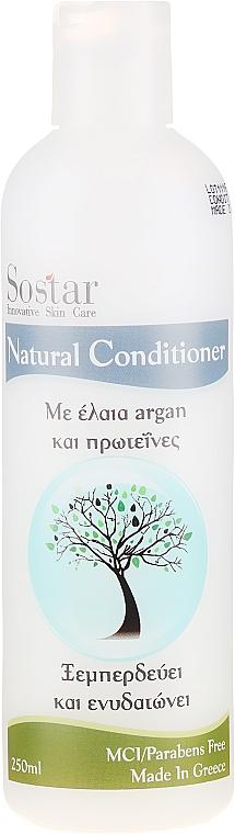 Feuchtigkeitsspendende Haarspülung mit Arganöl und Protein - Sostar Focus Argan Oil & Protein Conditioner