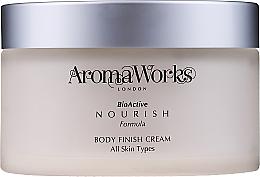 Düfte, Parfümerie und Kosmetik Nährende für alle Hauttypen - AromaWorks Body Finish Cream