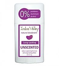 Düfte, Parfümerie und Kosmetik Natürlicher Deostick Unscented - Indus Valley Unscented Deodorant Stick