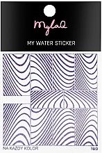 Düfte, Parfümerie und Kosmetik Nagelaufkleber 9 - MylaQ My Water Sticker