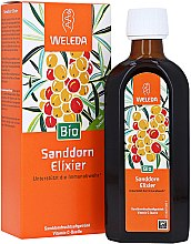 Düfte, Parfümerie und Kosmetik Nahrungsergänzungsmittel Bio Sanddorn-Elixier zur Unterstützung der Immunabwehr - Weleda Bio Sanddorn Elixer/Buckthurn Elixir