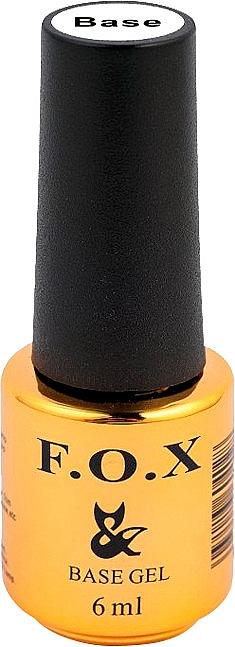Nagel-Base mit 3D-Gelpolitur - F.O.X Base Rubber Gel