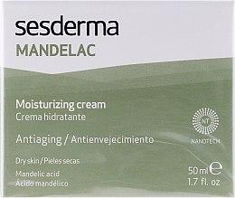Feuchtigkeitsspendende Gesichtscreme mit Mandelsäure - SesDerma Laboratories Mandelac Moisturizing Cream — Bild N1