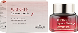 Düfte, Parfümerie und Kosmetik Vitalisierende straffende und nährende Lifting-Gesichtscreme mit rotem Ginsengextrakt - The Skin House Wrinkle Supreme Cream