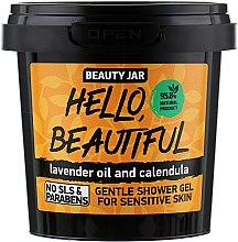 """Düfte, Parfümerie und Kosmetik Duschgel für empfindliche Haut """"Hello, Beautiful"""" - Beauty Jar Gentle Shover Gel"""