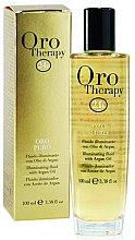 Düfte, Parfümerie und Kosmetik Haarfluid mit 24k Gold und Arganöl - Fanola Oro Therapy Fluido Oro Puro