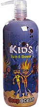 Düfte, Parfümerie und Kosmetik Bade- und Duschgel für Kinder Deep Ocean - Hegron Kid's Deep Ocean Bath & Shower