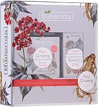 Düfte, Parfümerie und Kosmetik Gesichtspflegeset mit rotem Ginseng 40+ - Bielenda Red Ginseng 40+ (Gesichtscreme 50ml + Augenkonturcreme 15ml)