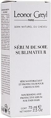 Pflegendes und schützendes Serum für dünnes Haar - Leonor Greyl Serum de Soie Sublimateur — Bild N1