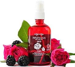Düfte, Parfümerie und Kosmetik Erfrischendes Gesichtstonikum mit Rosenwasser und Brombeerextrakt - Uoga Uoga Refreshing Face Tonic