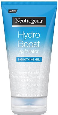 Glättendes Gesichtsgel-Peeling - Neutrogena Hydro Boost Exfoliator Smoothing Gel