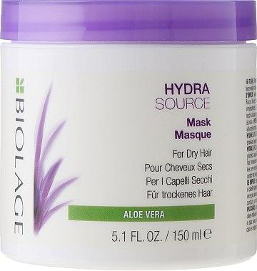 Feuchtigkeitsspendende Haarmaske für trockene Haut - Biolage Hydrasource Mask For Dry Hair