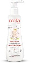 Düfte, Parfümerie und Kosmetik Körperlotion für Babys mit Ringelblume und Panthenol - Roofa Calendula & Panthenol Body Lotion