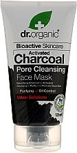 Düfte, Parfümerie und Kosmetik Gesichtsmaske zur tiefen Porenreinigung mit Aktivkohle - Dr. Organic Bioactive Skincare Activated Charcoal Pore Cleansing Face Mask