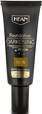 Flüssige Grundierung mit dunklen Pigmenten und Vitamin E - Hean Darkening Shade