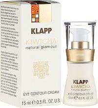Düfte, Parfümerie und Kosmetik Leichte Fluid-Creme für die Augenpartie mit Aloe Vera und Sheabutter - Klapp Kiwicha Eye Contour Cream