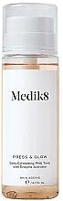 Düfte, Parfümerie und Kosmetik Feuchtigkeitsspendendes und glättendes Gesichtstonikum - Medik8 Press & Glow Daily Exfoliating PHA Tonic With Enzyme Activator