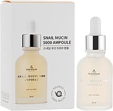 Düfte, Parfümerie und Kosmetik Verjüngendes Gesichtsserum mit Schneckenschleim und Kollagen - The Skin House Snail Mucin 5000 Ampoule