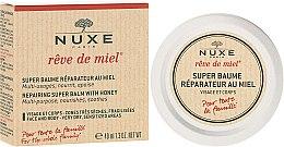 Düfte, Parfümerie und Kosmetik Regenerierender Balsam für Gesicht und Körper für die ganze Familie - Nuxe Reve de Miel Repairing Super Balm With Honey