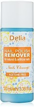 Düfte, Parfümerie und Kosmetik Nagellackentferner - Delia Acetone Free Nail Polish Remover for Natural and Artificial Nails