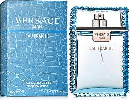 Düfte, Parfümerie und Kosmetik Versace Man Eau Fraiche - Eau de Toilette