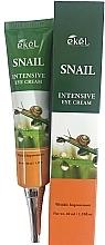 Düfte, Parfümerie und Kosmetik Intensive Anti-Falten Creme für die Augenpartie mit Schneckenschleim - Ekel Snail Intensive Eye Cream