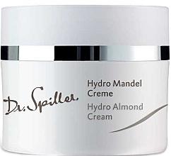Düfte, Parfümerie und Kosmetik Feuchtigkeitsspendende und regenerierende Gesichtscreme mit Traubenkernöl und Mandelduft - Dr. Spiller Hydro Almond Cream