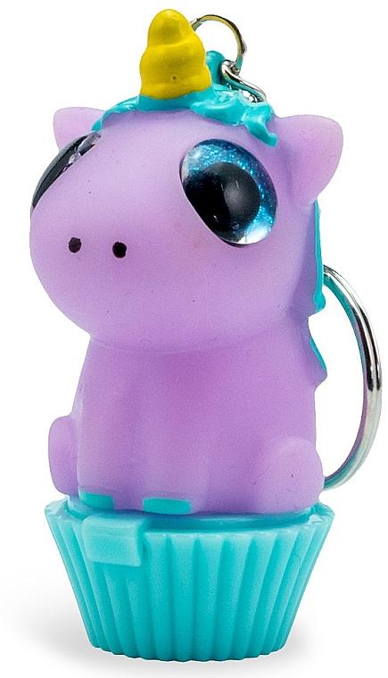 Pflegender, aufweichender und feuchtigkeitsspendender Lippenbalsam für Kinder mit Marshmallow-Duft Einhorn - Martinelia Lip Balm