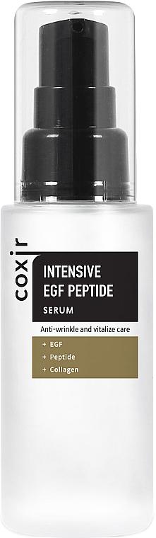 Vitalisierendes Anti-Falten Gesichtsserum mit Peptiden und Kollagen - Coxir Intensive EGF Peptide Serum