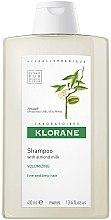Düfte, Parfümerie und Kosmetik Shampoo mit Mandelmilch für mehr Volumen - Klorane Volumising Shampoo with Almond Milk