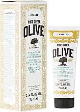 Düfte, Parfümerie und Kosmetik Cremiges Gesichtspeeling mit Olive - Korres Pure Greek Creamy Exfoliating Scrub