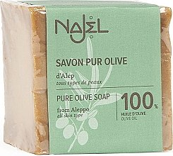 Düfte, Parfümerie und Kosmetik Aleppo-Seife mit Olivenöl - Najel Pure Olive Soap From Alepo