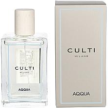 Düfte, Parfümerie und Kosmetik Duftendes Raumspray mit Vanille und Tuberose - Culti Milano Room Spray Aqqua