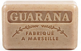 Düfte, Parfümerie und Kosmetik Handgemachte Naturseife mit Guarana-Duft und Sheabutter - Foufour Savonnette Marseillaise Guarana