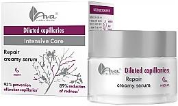 Düfte, Parfümerie und Kosmetik Intensiv pflegendes und regenerierendes Nachtcreme-Serum für Kapillarhaut - Ava Laboratorium Extended Capillaries Cream Serum