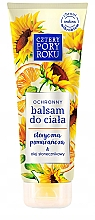 Düfte, Parfümerie und Kosmetik Schützende Körperlotion mit Sonnenblumenöl - Cztery Pory Roku Body Balm