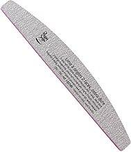 Düfte, Parfümerie und Kosmetik Doppelseitige Nagelfeile waschbar 100/100 Zebra - Peggy Sage 2-way Washable Half-Moon Nail File
