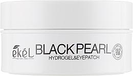 Düfte, Parfümerie und Kosmetik Hydrogel Augenpatches mit schwarzem Perlenextrakt - Ekel Ample Hydrogel Eyepatch