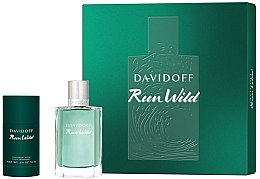 Düfte, Parfümerie und Kosmetik Davidoff Run Wild Men - Duftset (Eau de Toilette 100ml + Deostick 70g)