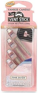 Auto-Lufterfrischer Pink Sands Duftstick - Yankee Candle Pink Sands Car Vent Sticks