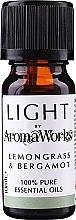 Düfte, Parfümerie und Kosmetik Ätherisches Öl Zitronengras und Bergamotte - AromaWorks Light Range Lemongrass and Bergamot Essential Oil