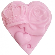 Düfte, Parfümerie und Kosmetik Handgemachte Naturseife mit Rosenholz- und Magnolienöl - Bomb Cosmetics Queen Of Hearts Art of Soap