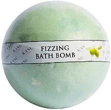 Düfte, Parfümerie und Kosmetik Badebombe Olivenbaum - Kanu Nature Fizzing Bath Bomb Olive Tree