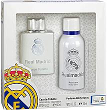 Düfte, Parfümerie und Kosmetik Air-Val International FC Real Madrid - Duftset (Eau de Toilette 100ml + Deospray 150ml)