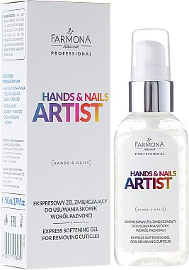 Nagelhautentferner - Farmona Professional Hands and Nails Artist Express Softening Gel For Removing Cuticles